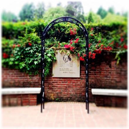 Shakespeare section of International Rose Test Garden