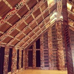 Maori Meeting House, Hotunui, at the Auckland War Memorial Museum
